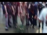 Зомби преследуют танк. игромир-2012